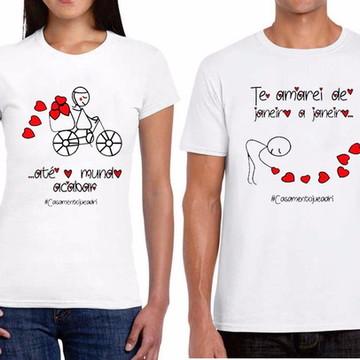 Camiseta Romântica Casal