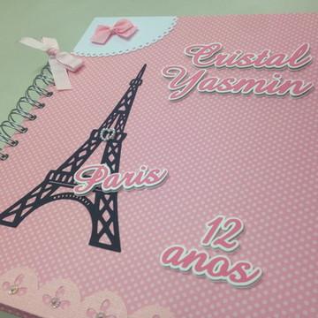 Caderno de mensagem Paris