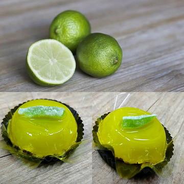 Quindim de Limão Siciliano