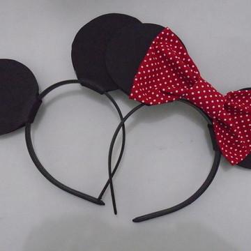 Kit Tiara Mickey e Minnie
