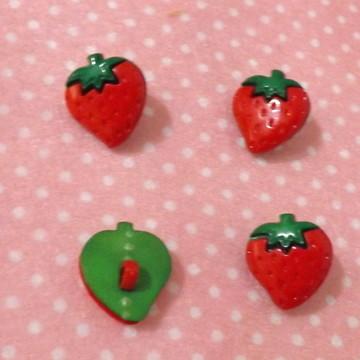 12 botões de morango