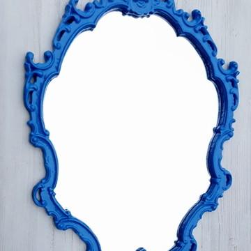 Espelho Ornament Azul Bic