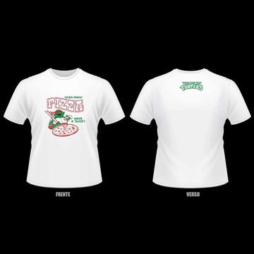 Camiseta Tartarugas Ninjas - Teenage Mutant Ninja Turtles