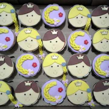 Cupcakes - Rapunzel
