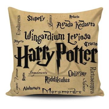 Almofada Harry Potter - Feitiços