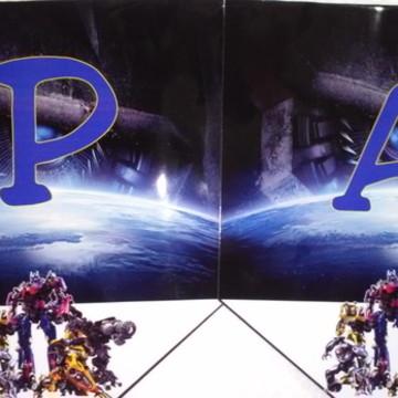 Varal Transformers personalizado