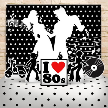 Kit Festa Anos 80
