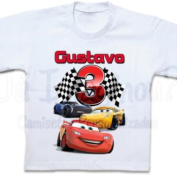 Camisetas Carros 3