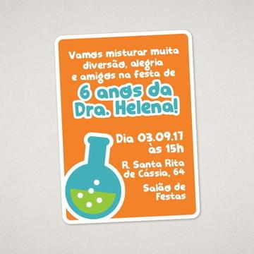 Convite Digital Cientista