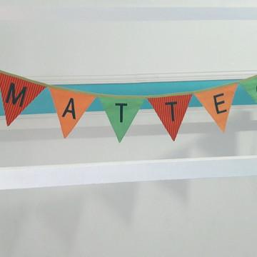 Bandeirolas Decorativa