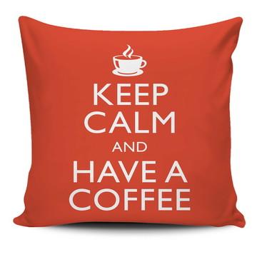 Almofada Keep Calm - Café