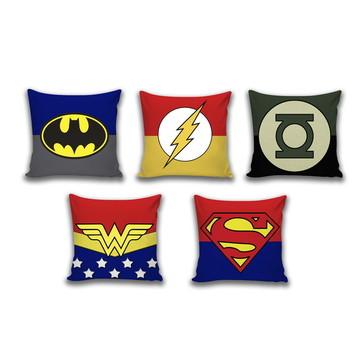 Almofada Herois da DC - Liga da Justiça