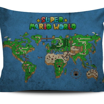 Almofada Super Mario - Mundo Mario