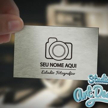 Logotipo estúdio fotográfico Pronta entrega 01