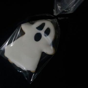 Biscoitos decorados Fantasma Halloween