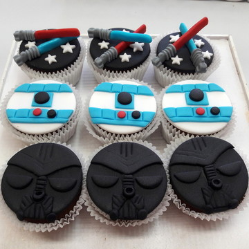 Mini cupcake Star Wars