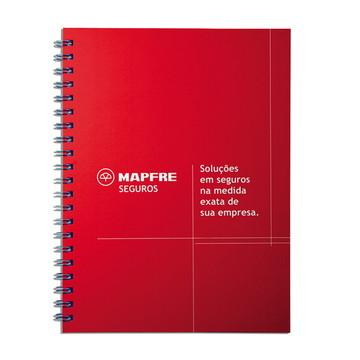 Caderno Personalizado   Grande   Capa Dura   10 unid.