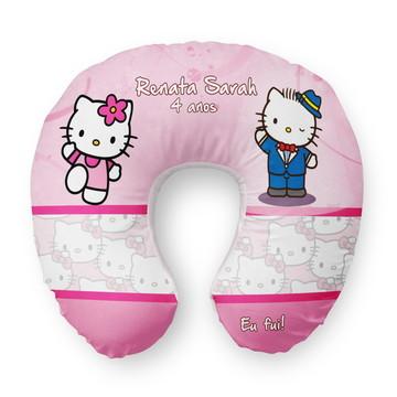 Almofada Pescoço Personalizada Hello Kitty