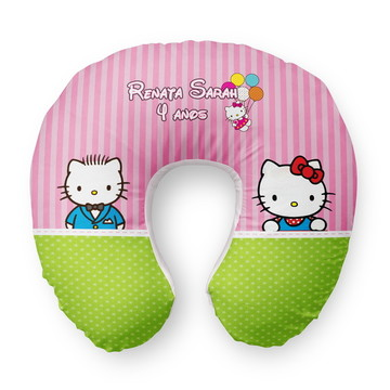Almofada Pescoço Hello Kitty