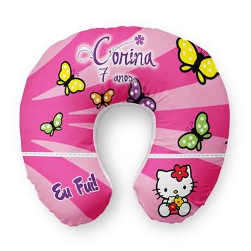 Almofada Pescoço Hello Kitty Personalizada