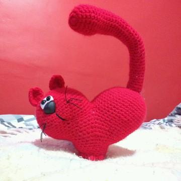 Gato coração