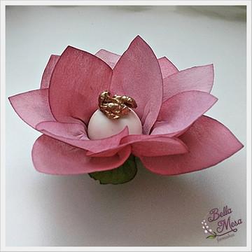 Papoula Rústica Rosa Seco