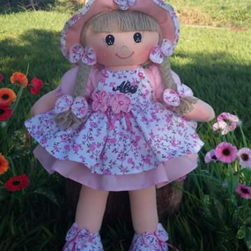boneca para decoração