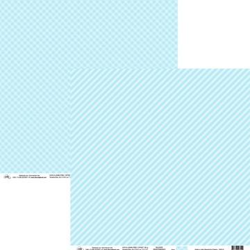 Papel Xadrez e Listas Diagonal Azul Dreamy