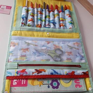 Maleta de Desenho com lápis