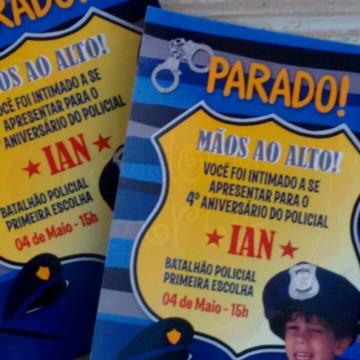 Convite Policia 10x15