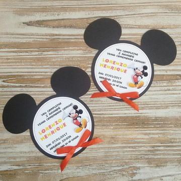 Convite Orelhas Mickey