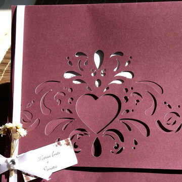Convite Casamento Love Colors
