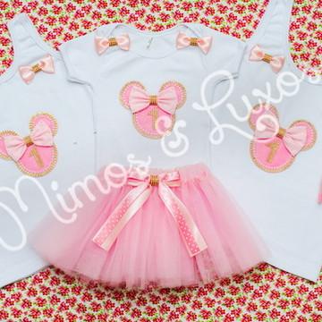 Kit família - 1 conjunto infantil + 2 blusas