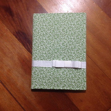 Caderno Encapado Laço Chanel
