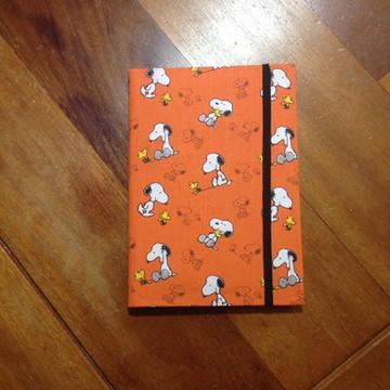 Caderno Encapado Snoopy