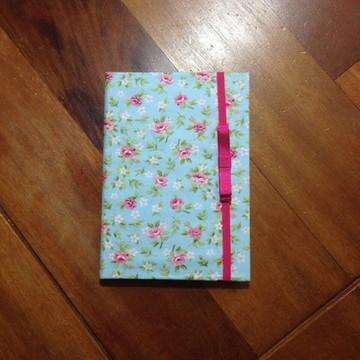 Caderno Encapado Flores