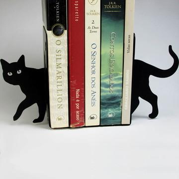 Bibliocanto Gato Aço