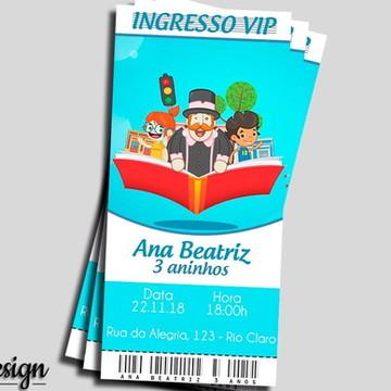 CONVITE DIGITAL MUNDO BITA INGRESSO VIP