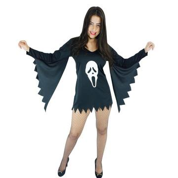 0dd50dc46 Fantasia Pânico Feminina Halloween