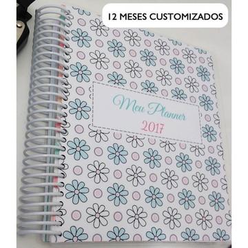 Planner Floral 2019 Pessoal e Estudos PERSONALIZADO