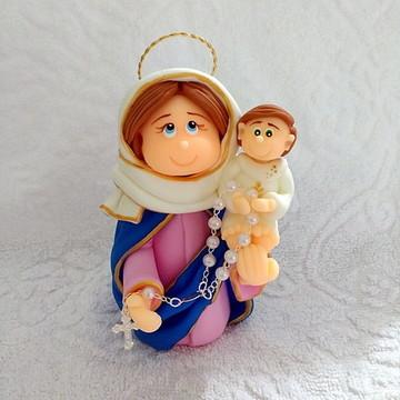 Nossa Senhora do Rosário-12 cm altura
