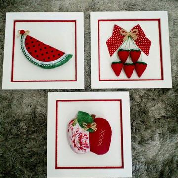 Quadrinhos de frutas