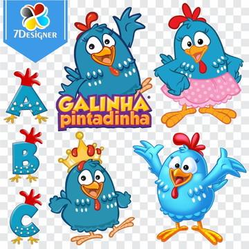 Kit Digital Galinha Pintadinha 279 Imagens