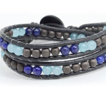Chan luu hematita e Lápis lazuli