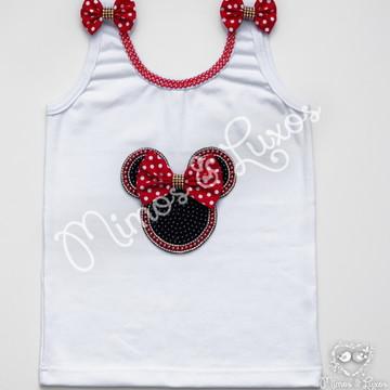 Camiseta da Minnie Rosa ou Vermelha