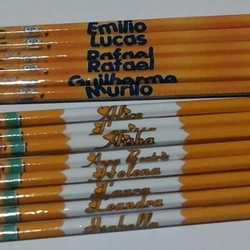 Lápis personalizado Dia das Crianças