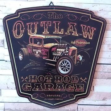 Quadro Decorativo Vintage Hot Road