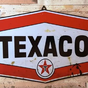 Quadro Decorativo Vintage Texaco