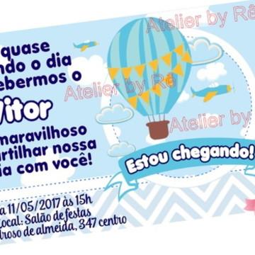 Convite chá de bebê (promocional)