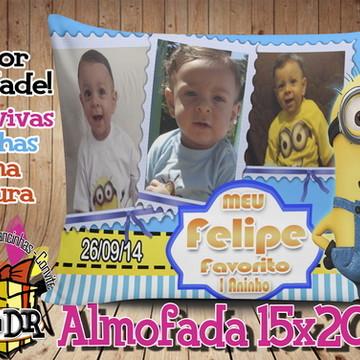 Almofada Minions 15x20